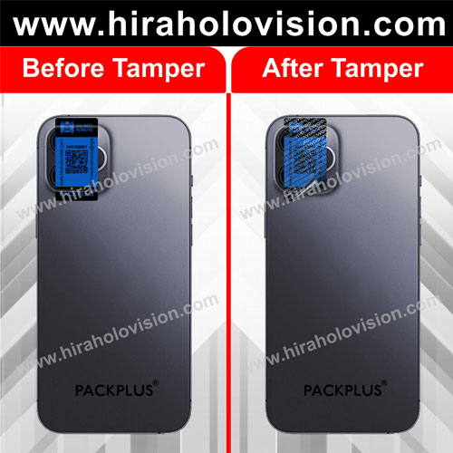 Mobile Camera Tamper Evident Seal